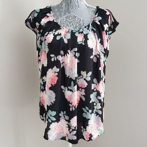 LC Pleated Neck Top